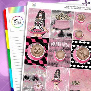 Pick Your Poison Planner Sticker Kit