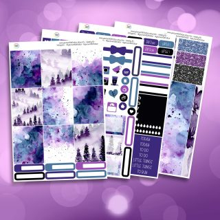 Mystic Full Four Sheet Weekly Planner Sticker Kit
