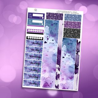 Mystic Washi and Date Cover Stickers