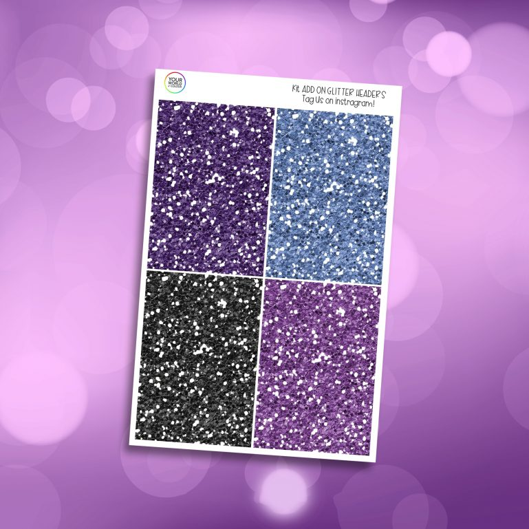 Mystic Glitter Headers Add On
