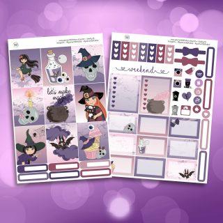 Make Magic Two Sheet Weekly Planner Sticker Kit