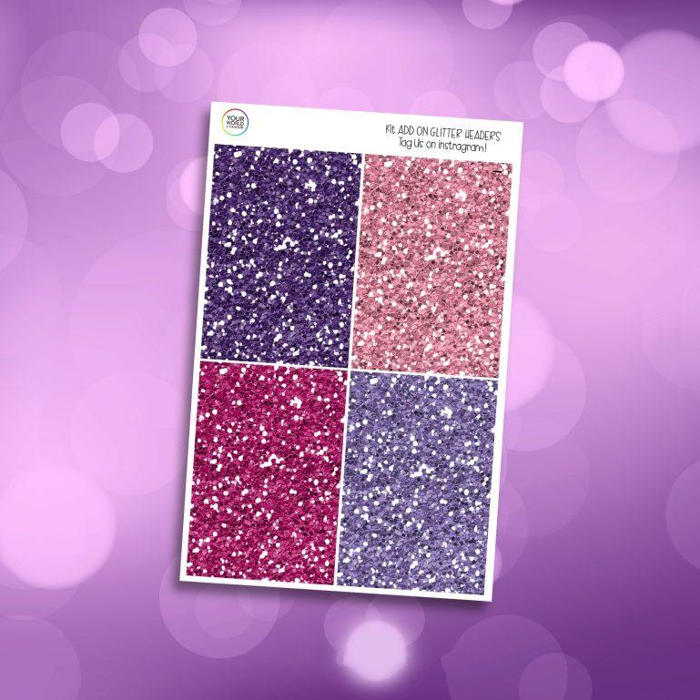 Make Magic Glitter Headers Add On