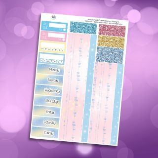 Cinders Washi and Date Cover Stickers