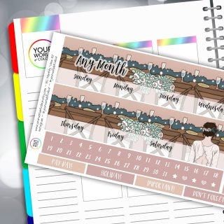 Erin Condren Monthly Sticker Kit