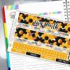 Crazy Daisy Erin Condren Monthly Sticker Kit