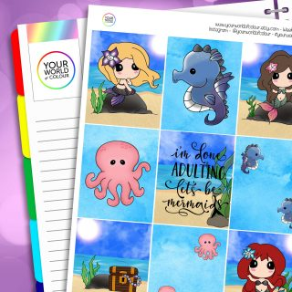 Erin Condren Weekly Planner Sticker Kit