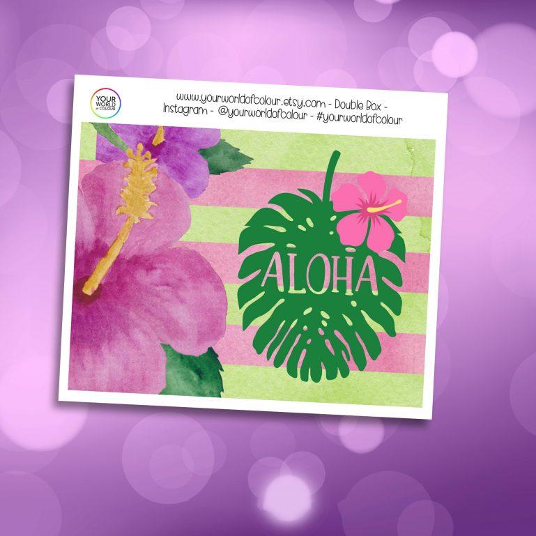 Aloha Double Box Add On