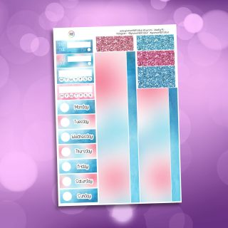Fairy Magic Washi and Date Cover Stickers
