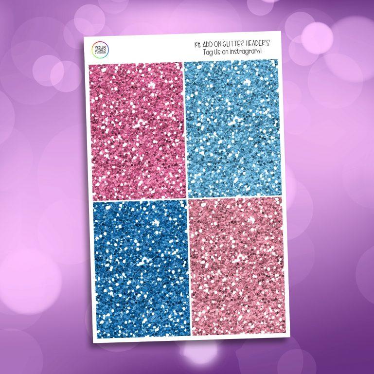 Fairy Magic Glitter Headers Add On