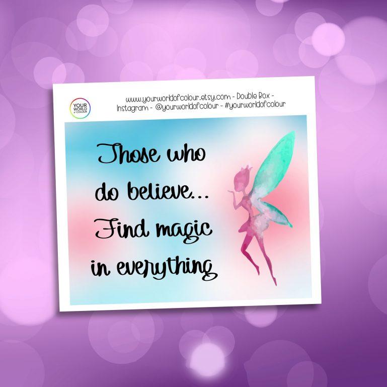 Fairy Magic Double Box Add On