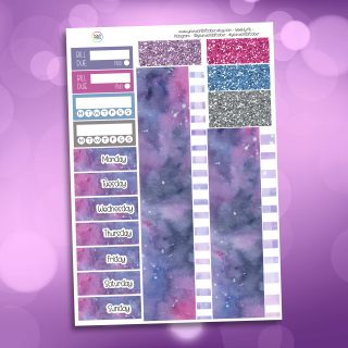 Be Yourself Washi and Date Cover Stickers