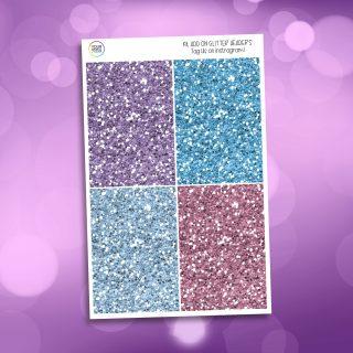 Believe In Magic Glitter Headers Add On