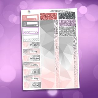 Cozy Spring Time Washi and Date Cover Stickers