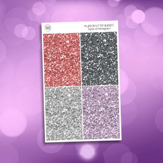 Cozy Spring Time Glitter Headers Add On