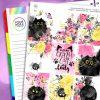 Cats Erin Condren Weekly Planner Sticker Kit