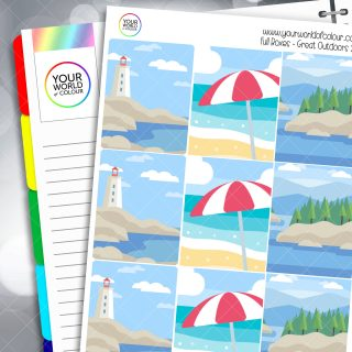 Outdoors Planner Stickers