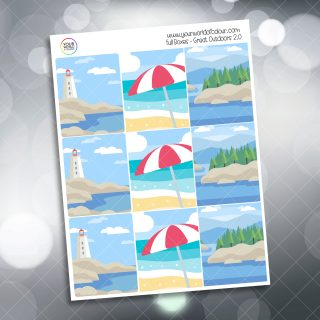 2.0 Outdoors Planner Stickers