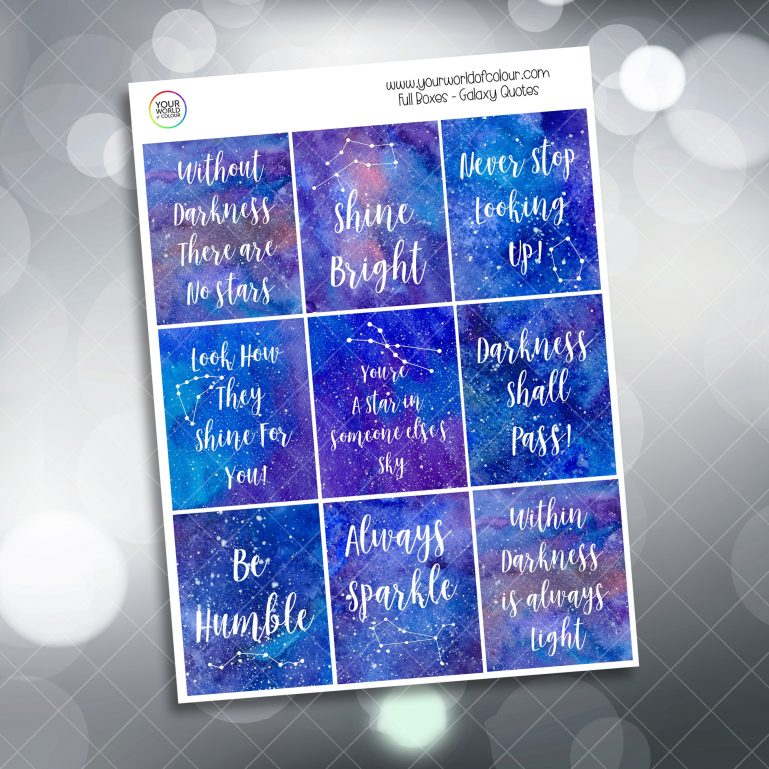 Galaxy Quotes Full Boxes