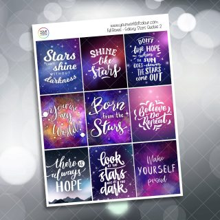 Galaxy Stars Quotes Full Boxes