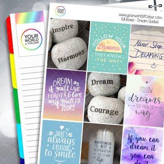Dream Quotes Full Box