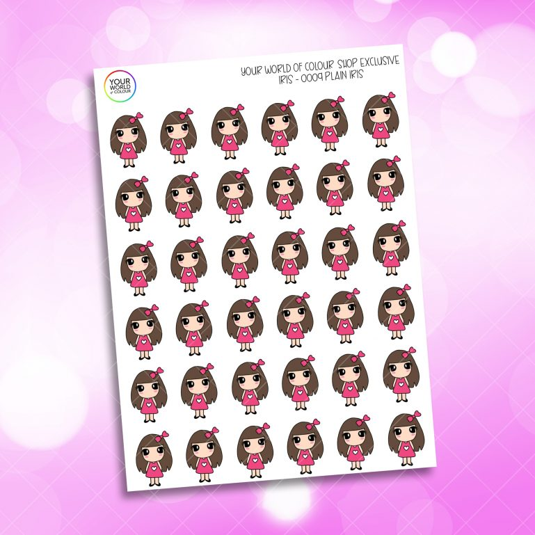 Iris Planner Stickers