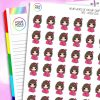 It's Cold Iris Character Planner Stickers