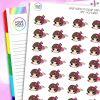 Urgh Iris Character Planner Stickers