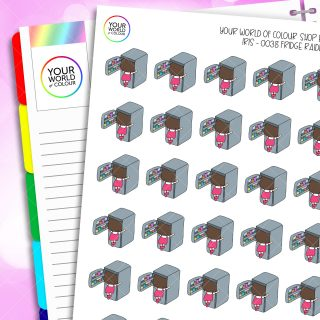 Fridge Raider Iris Character Planner Stickers
