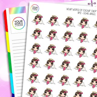 Angel Iris Character Planner Stickers