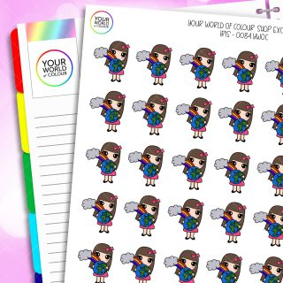 Your World Of Colour Iris Character Planner Stickers
