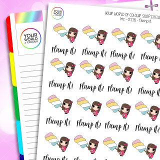 Flump Character Planner Stickers