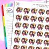 Iris & Daisy Character Planner Stickers