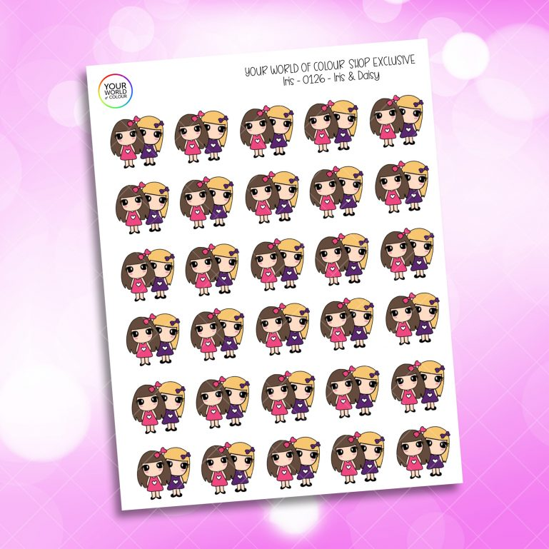 Iris & Daisy Planner Stickers