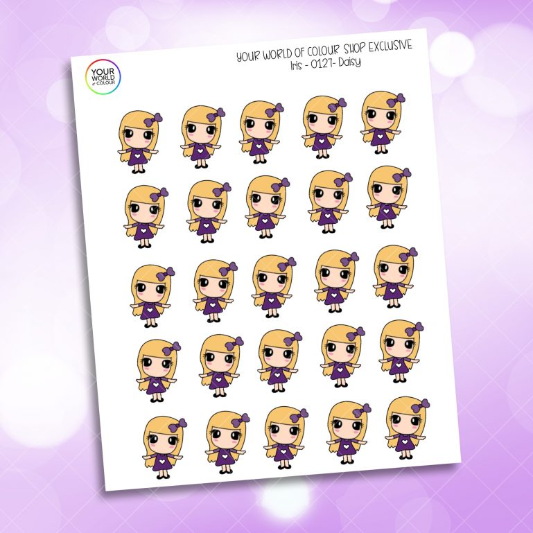 Daisy Planner Stickers