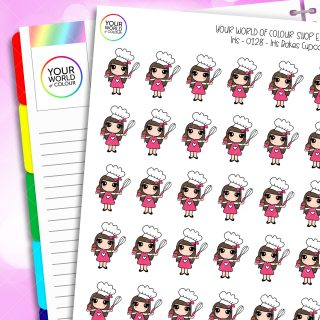 Baking Character Planner Stickers