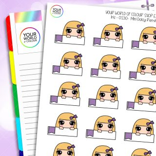 Reminder Character Planner Stickers