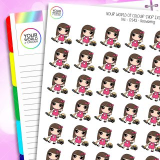 Hoover Iris Character Planner Stickers