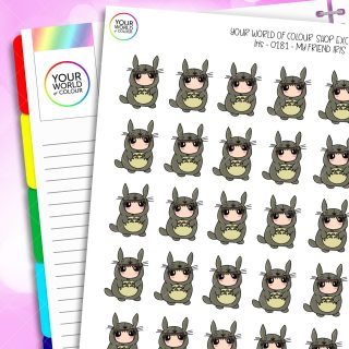 My Friend Iris Character Planner Stickers