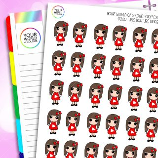 Youtube Iris Character Planner Stickers