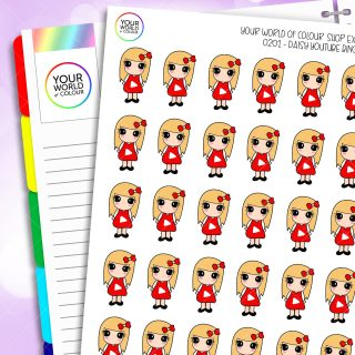 Youtube Daisy Character Planner Stickers