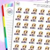 Planner Time Daisy Character Planner Stickers
