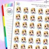 Pool Time Daisy Character Planner Stickers
