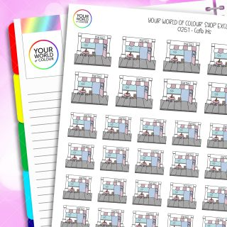 Cafe Iris Planner Stickers