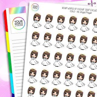 Angel Iris Character Planner Stickers