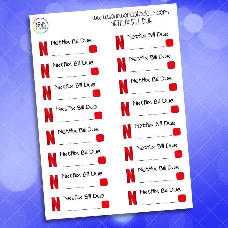 Netflix Bill