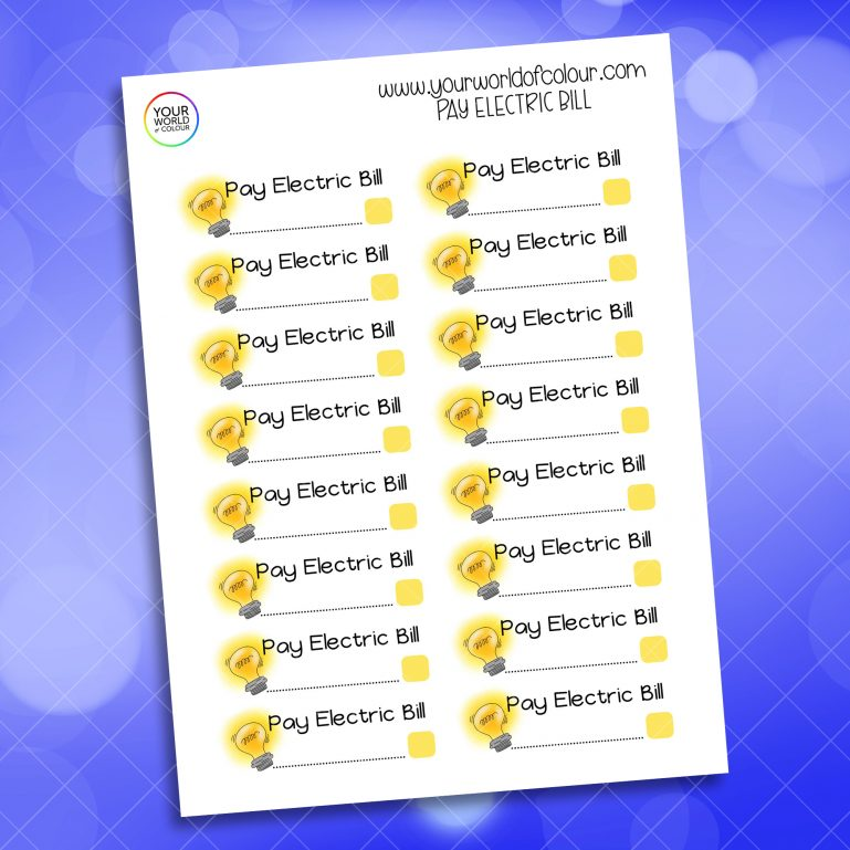 Pay Electric Bill