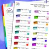 Pay Credit Card Planner Stickers