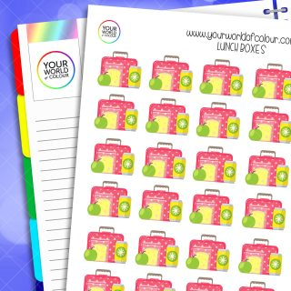 Lunch Boxes Planner Stickers