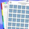 Calculator Planner Stickers