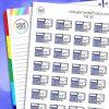 Maths Planner Stickers